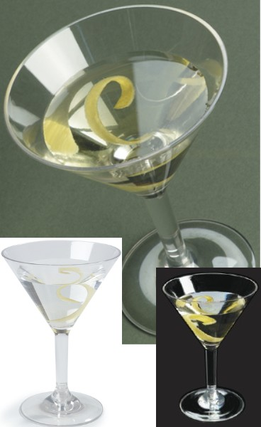 verre cocktail martini en polycarbonate incassable 24 cl l 39 unit carlisle food services. Black Bedroom Furniture Sets. Home Design Ideas