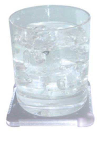 dessous de verre lumineux boite de 4 610 detacabaco decoration table cadeaux bar cocktails. Black Bedroom Furniture Sets. Home Design Ideas